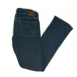 Lucky Brand Leyla boot dark wash jeans sz 4/27L
